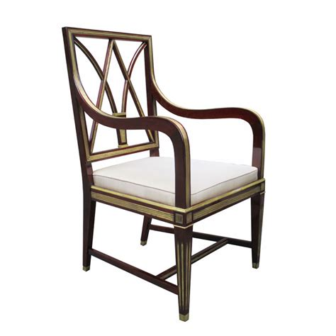 a fine neoclassical mahogany bench karl kemp antiques important pair of neoclassical armchairs karl kemp antiques