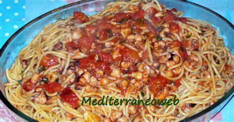 come cucinare i polpi piccoli mediterraneoweb spaghetti con polpi moscardini