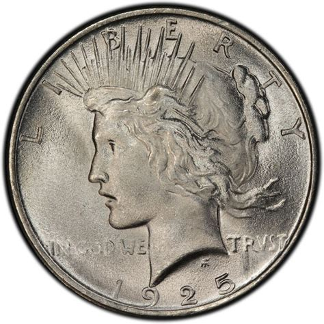 1925 silver dollar value 1925 peace dollar values and prices past sales