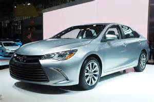 2015 Toyota Camary 2015 Toyota Camry Unveiled At Nyias