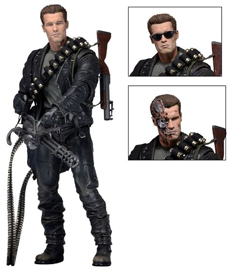 Home Decor San Diego by Terminator 2 7 Quot Scale Action Figure Ultimate T 800