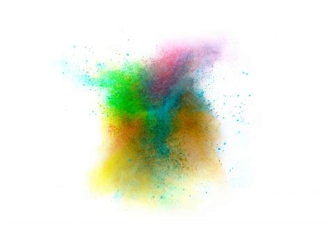 imagenes sin fondo blanco paint explosi 243 n de polvo de color sobre fondo blanco descargar