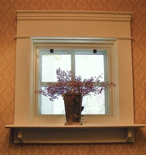 Shelf is nice way to extend a window sill. *** ? kitchen