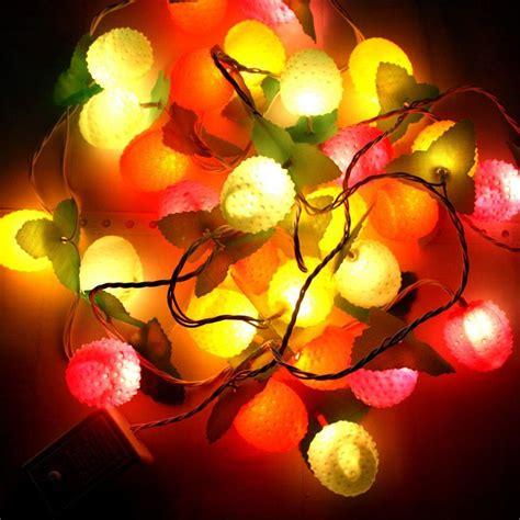 2017 Christmas Lights String Lights Decorative Lights Apple String Lights