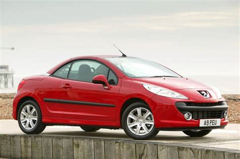peugeot car and insurance package peugeot 207 cc 2007 2010 used car review car review