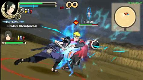 mod game naruto psp ppsspp naruto ultimate ninja impact sasuke itachi vs