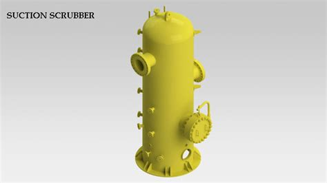 detailed engineering  booster compressor