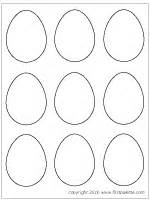 small easter egg template plain easter egg coloring pages www pixshark