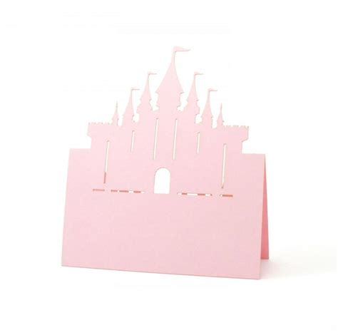 Baby Shower Place Cards by Castle Place Cards Set Of 10 Cards Wedding Place