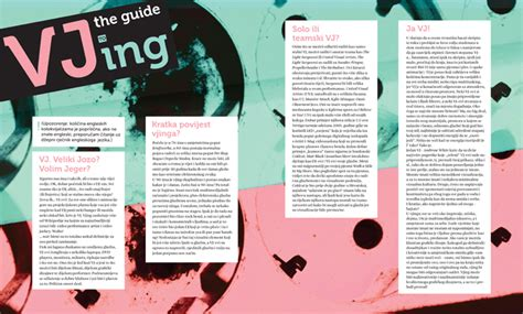 layout for magazine article magazine layouts by ivana todorovski at coroflot com