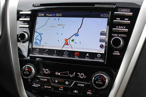 nissan navigation system review drive 2015 nissan murano digital trends
