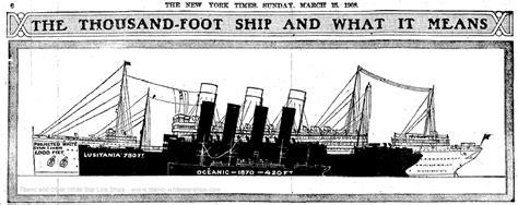 titanic boat size comparison ship size comparison infographic white star line white