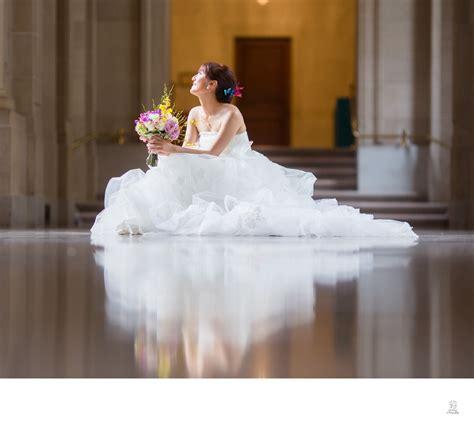 wedding lighting san francisco a beautiful dress in the light san francisco city hall