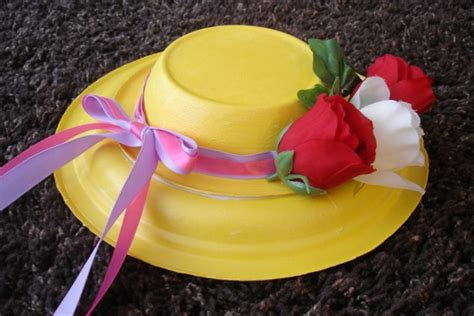 How To Make A Paper Easter Bonnet - image gallery easter hats