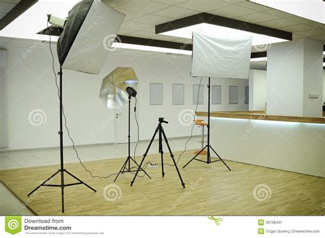 Photography Studio Stock Image Image Of Lighting