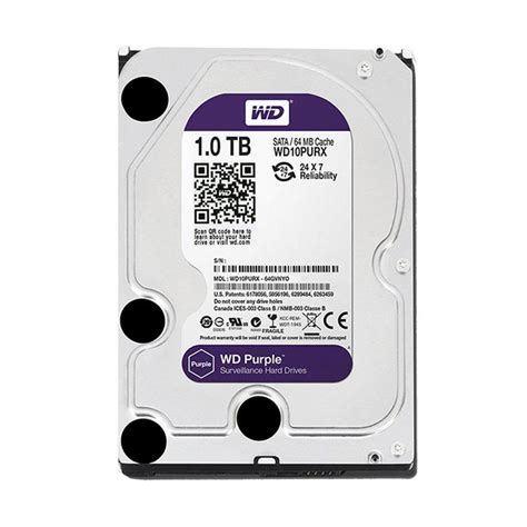 Hardisk Cctv 1 jual wd purple harddisk cctv 1tb 3 5 quot sata3
