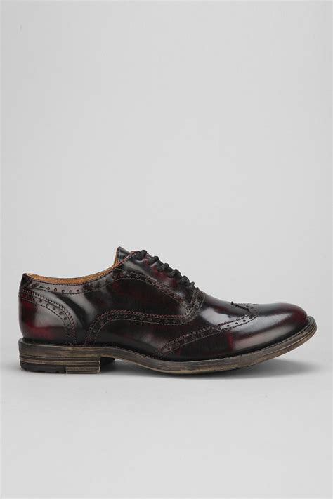 bed stu men s shoes bed stu cass wingtip shoe in brown for men lyst