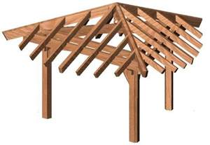 Building A Pitched Roof Pergola by Pitched Roof Pergola Plans Woodwork