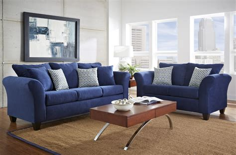 leather sofa sets for living room navy blue leather furniture blue living room set new