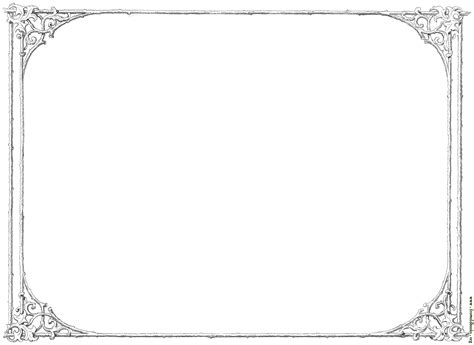 Similiar Formal Landscape Page Border Keywords
