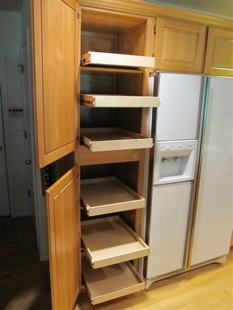 pantry slide out shelving portland by shelfgenie of