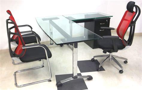 escritorio vidrio escritorios en vidrio fabrica muebles oficina abierta bogota
