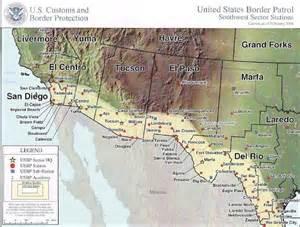 los algodones b c mexico uscbp sector map