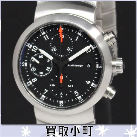 Quicksilver Chrono Circle Black 1 kaitorikomachi rakuten global market back skeleton black audi design circle chronograph