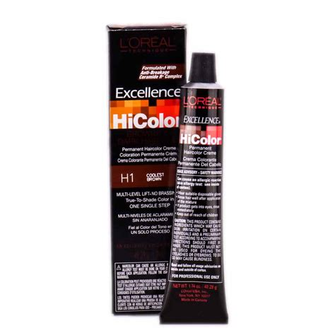 loreal excellence creme hair colour l oreal technique excellence hicolor permanent creme for