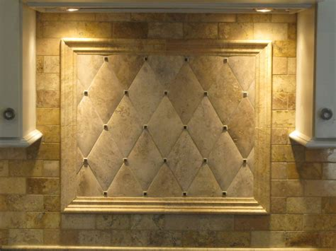 Kitchen Backsplash Travertine Tile Backsplash Honed Travertine Traditional Boston