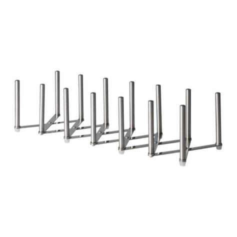 Pot Lid Rack Ikea new ikea variera pot lid organizer stainless steel ebay