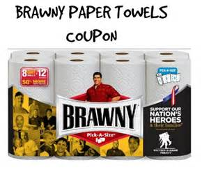 printable paper store coupons brawny paper towels coupon save 1 00 store deals ftm