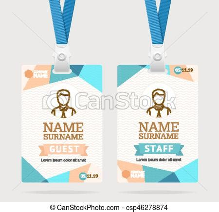 breitbart id card template id card template plastic badge vector id card template