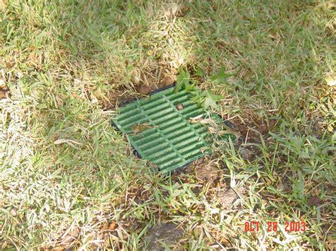 Catch Basin In Backyard by Drainage Solutions Plano Dallas Frisco Allen