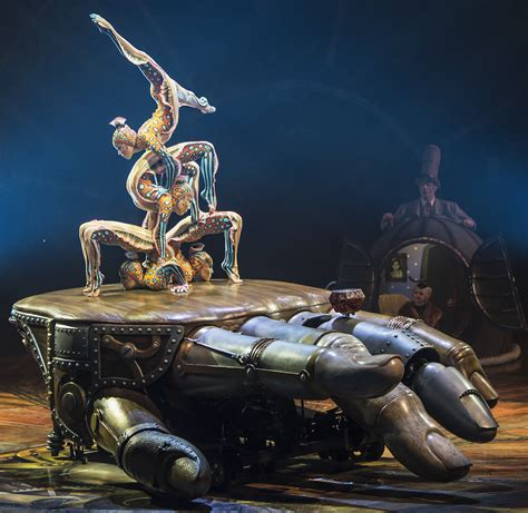 kurios cabinet of curiosities cirque du soleil spotlights low tech touches of brilliance