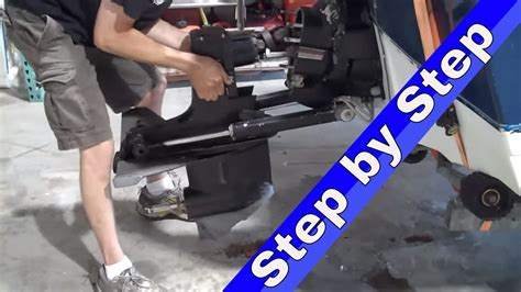 how to an alpha big kid powersports how to remove a mercruiser outdrive