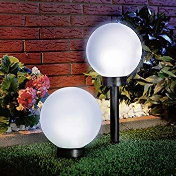 solar powered globe lights amazon com solar powered globe light set of 2