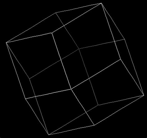 Rhombic Dodecahedron Origami - pictures of polyhedra