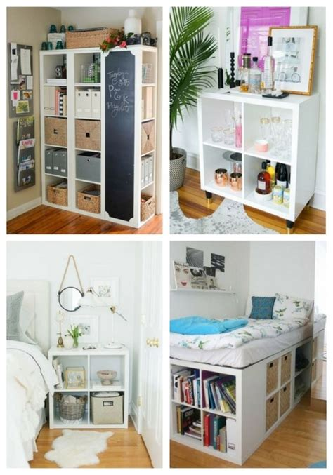 75 Cool IKEA Kallax Shelf Hacks ComfyDwelling.com