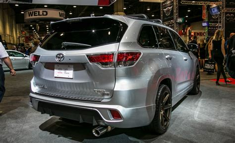 highlander trd trd spices up the toyota highlander the unpossible