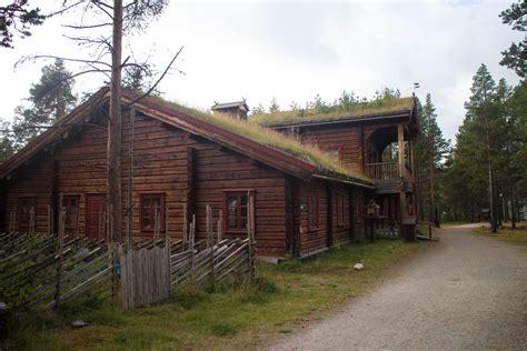 Santa Claus Home   Log and timber frame house