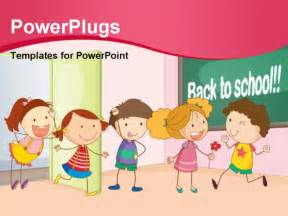 free children powerpoint templates powerpoint template and together