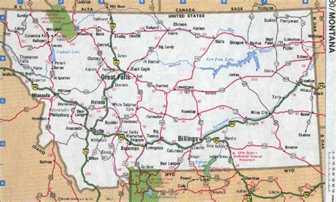 printable road map of idaho madison county montana maps