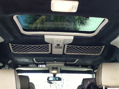 How To Fix A Car Interiors Falling Ceiling by Discovery 2 Project Blou Bees