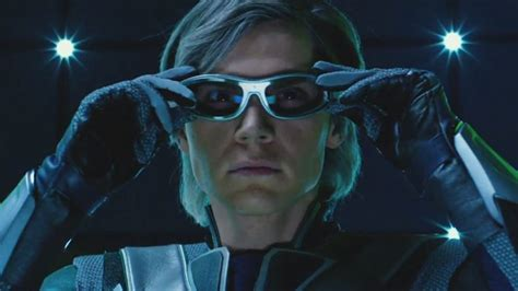 quicksilver in film quicksilver scene video behind the scenes of x men