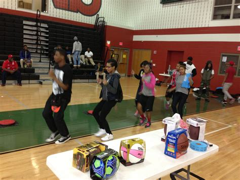 New Home Foundation the rock the block event at h d woodson high school is