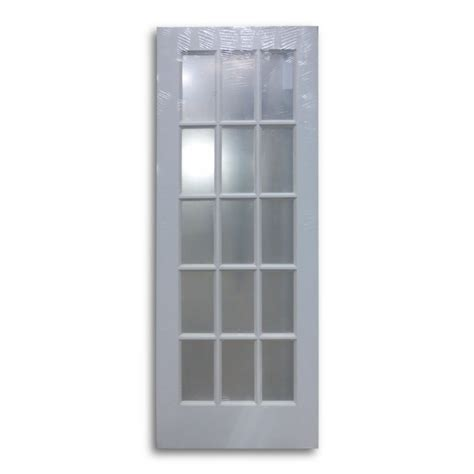 15 Lite Interior Door Interior Door Primed White 15 Lite 30 Quot W Home Surplus