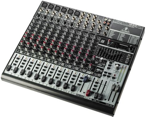 Mixer Behringer Xenyx 1832fx behringer xenyx 1832fx sound light rental event media studio acquris media security