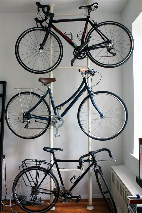 indoor bike storage bike hack diy bike storage bike slo county