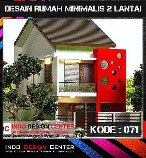 desain rumah minimalis jakarta desain rumah minimalis 2 lantai di pancoran jakarta